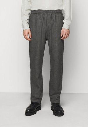 CHASE - Pantalones - black/grey