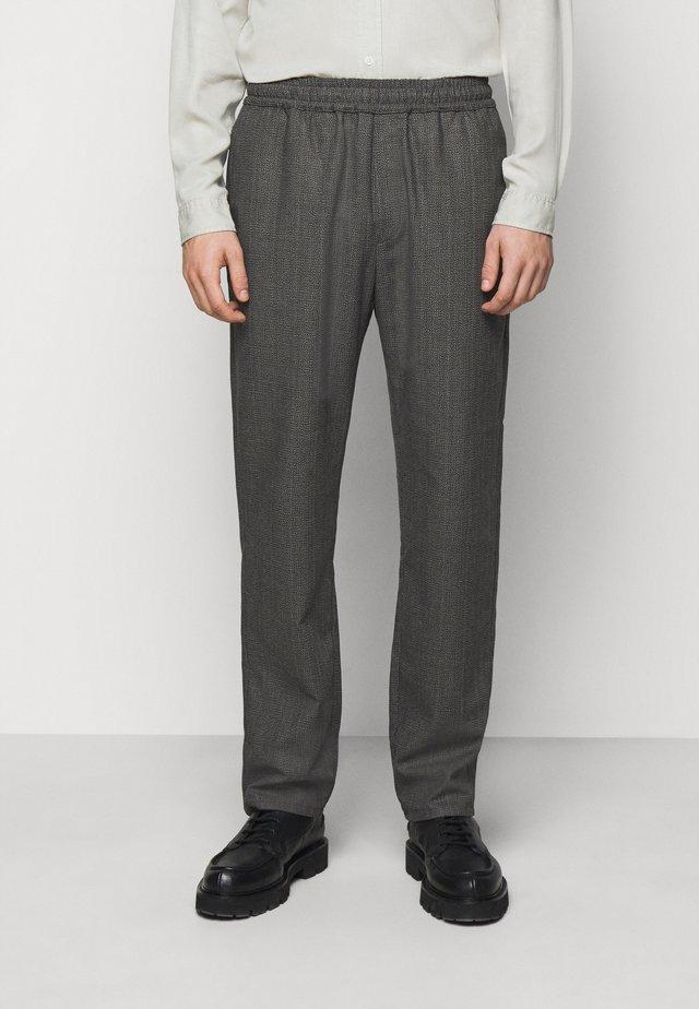 CHASE - Pantalon classique - black/grey