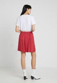 Ragwear - MARE - Áčková sukně - chili red - 2