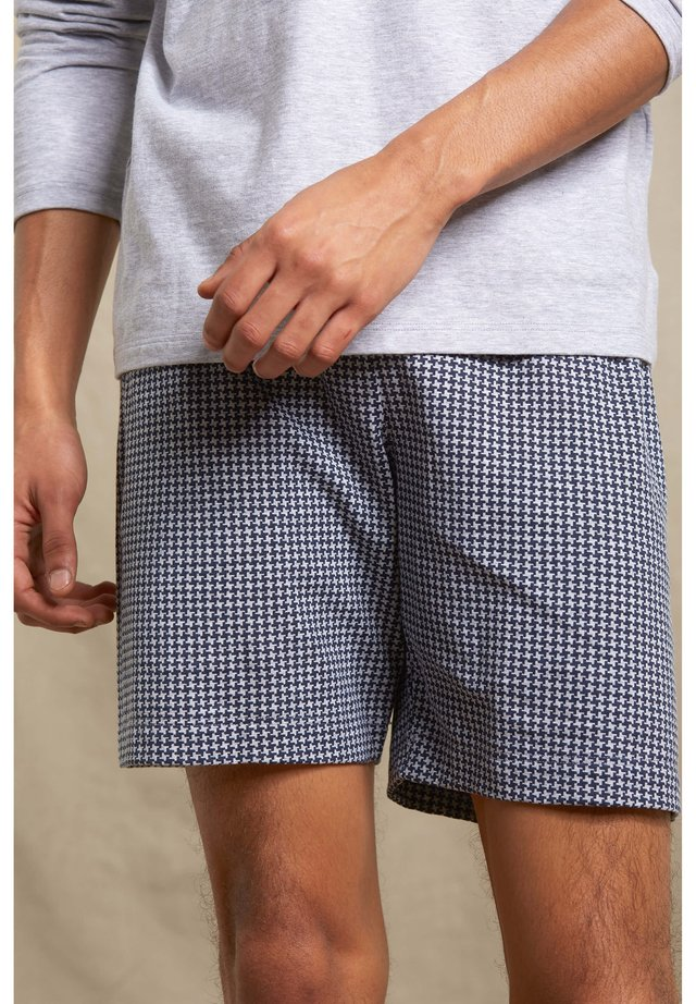 Pyjama bottoms - light grey melange