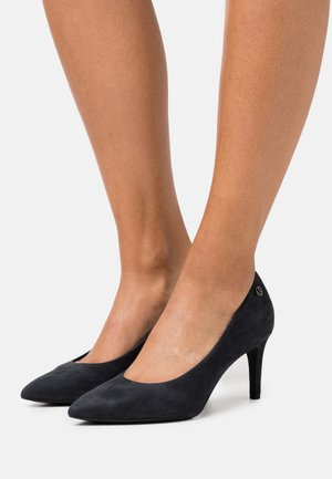 COURT SHOE - Tacones - navy