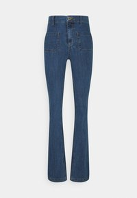 River Island Tall - FLARE MATEO - Flared jeans - mid auth - 0