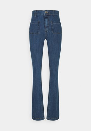 FLARE MATEO - Flared jeans - mid auth