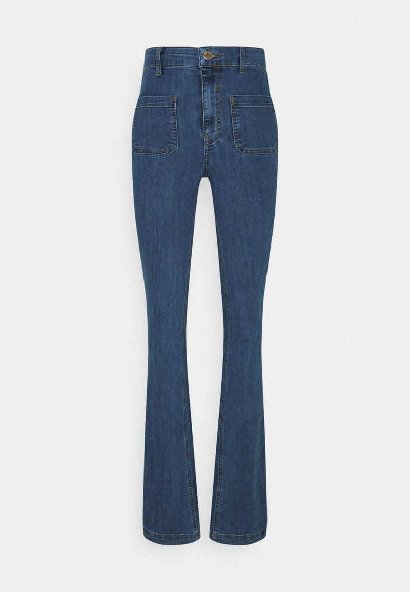 River Island Tall - FLARE MATEO - Flared jeans - mid auth