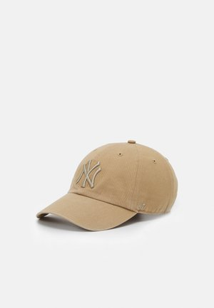 NEW YORK YANKEES CLEAN UP UNISEX - Gorra - khaki