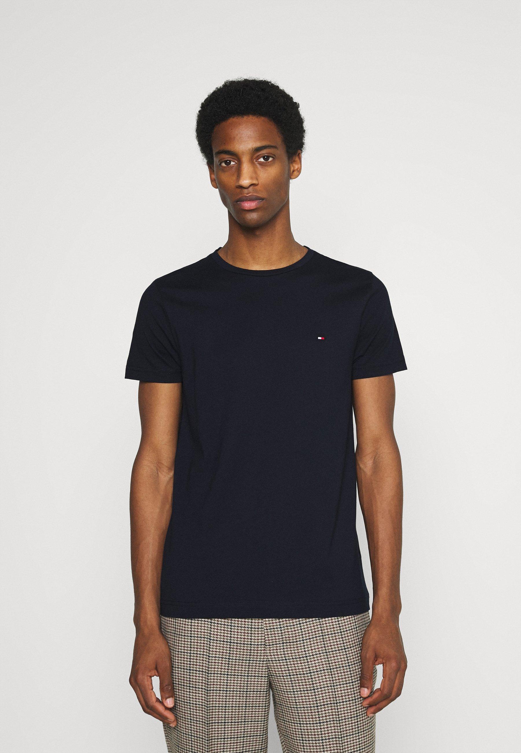 Men BACK LOGO TEE - Print T-shirt