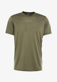 Craft - CORE ESSENCE TEE  - Print T-shirt - rift - 4