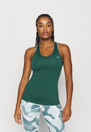 RACER TANK - Sports shirt - saxon green