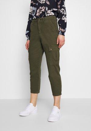 ONLELISE LYKKE - Kalhoty - kalamata