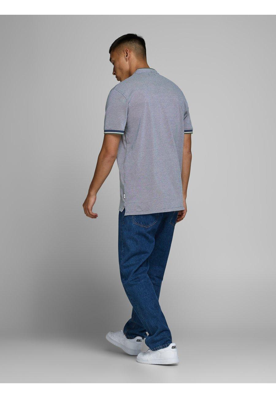 Jack & Jones PREMIUM Polo shirt - denim blue HDIWe