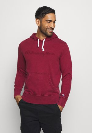 ROCHESTER HOODED - Hoodie - dark red