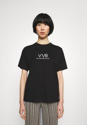 LOGO - T-shirt z nadrukiem - black