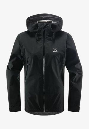 HARDSHELLJACKE ROC GTX JACKET WOMEN - Hardshell jacket - true black
