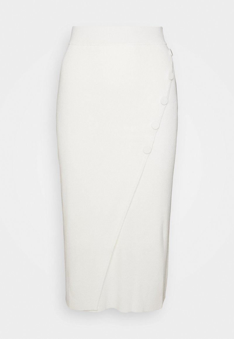 4th & Reckless - IRIS SKIRT - Pencil skirt - cream