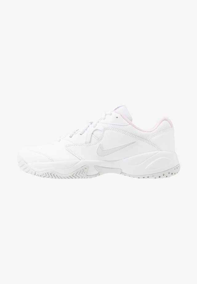 COURT LITE  - Scarpe da tennis per tutte le superfici - white/photon dust/pink foam