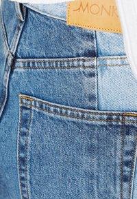 Monki - Straight leg jeans - blue medium dusty - 3