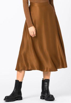 A-line skirt - zimt