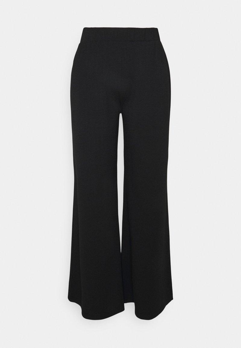 South Beach Petite - WIDE LEG PANT - Pantalon classique - black