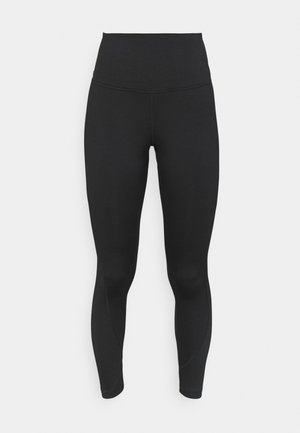 RIBBED HIGH WAISTED WORKOUT READY SPEEDWICK REECYCLED - Tights - black