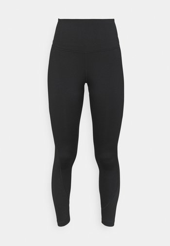RIBBED HIGH WAISTED WORKOUT READY SPEEDWICK REECYCLED - Collant - black