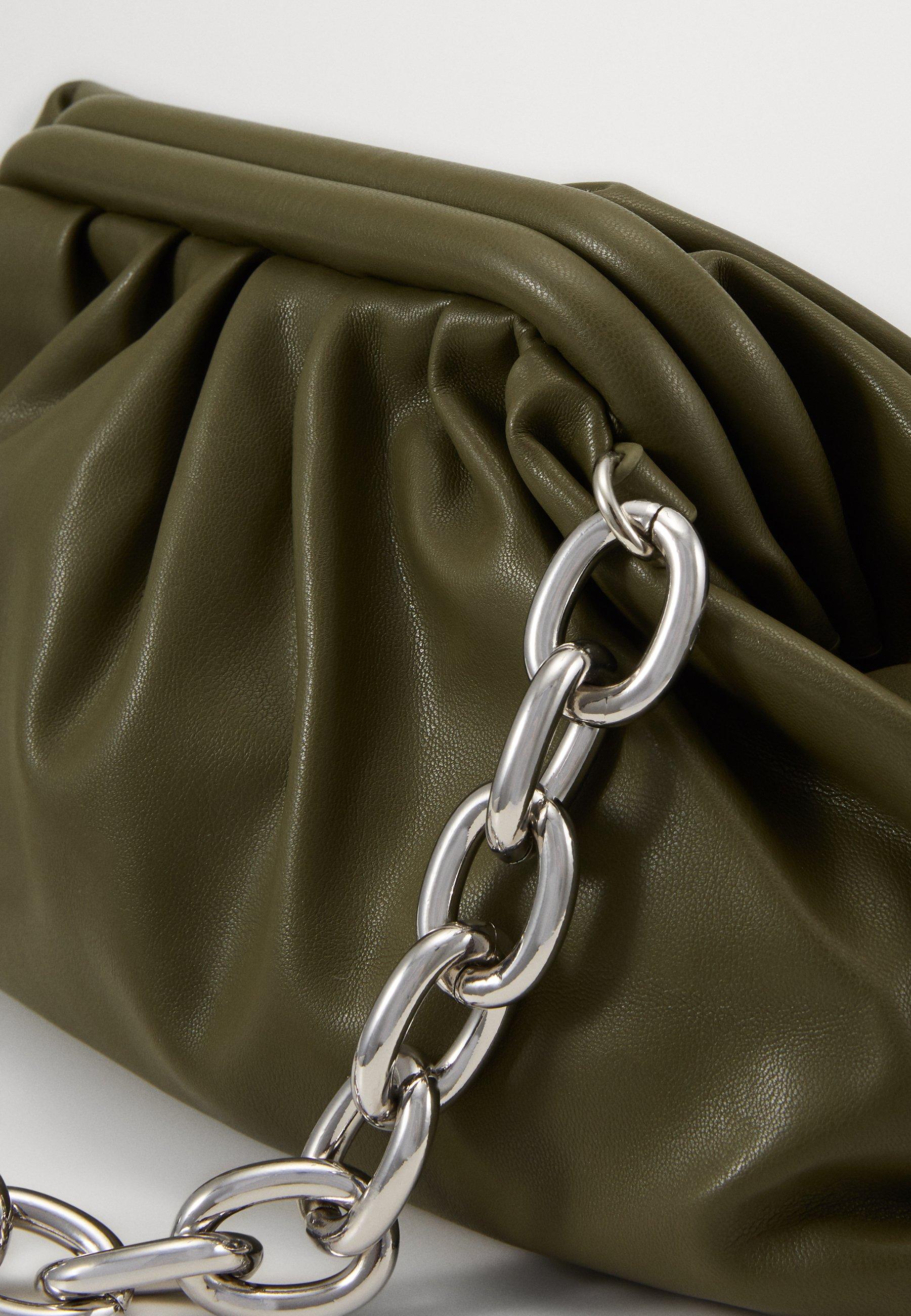 Gina Tricot AYLIN BAG - Håndveske - dark green/grønn NghWCkvcYwKqxyO