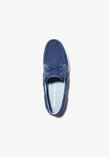 GATEWAY PIER BOAT - Boat shoes - black iris