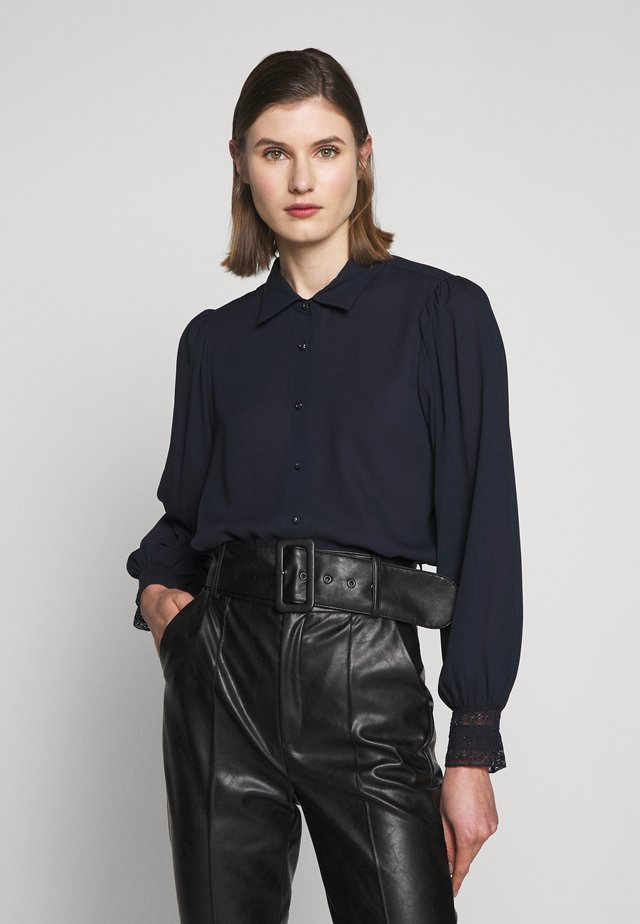 CHEMISE - Button-down blouse - darkblue
