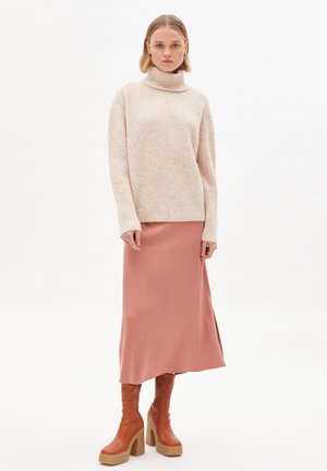 A-line skirt - copper glow