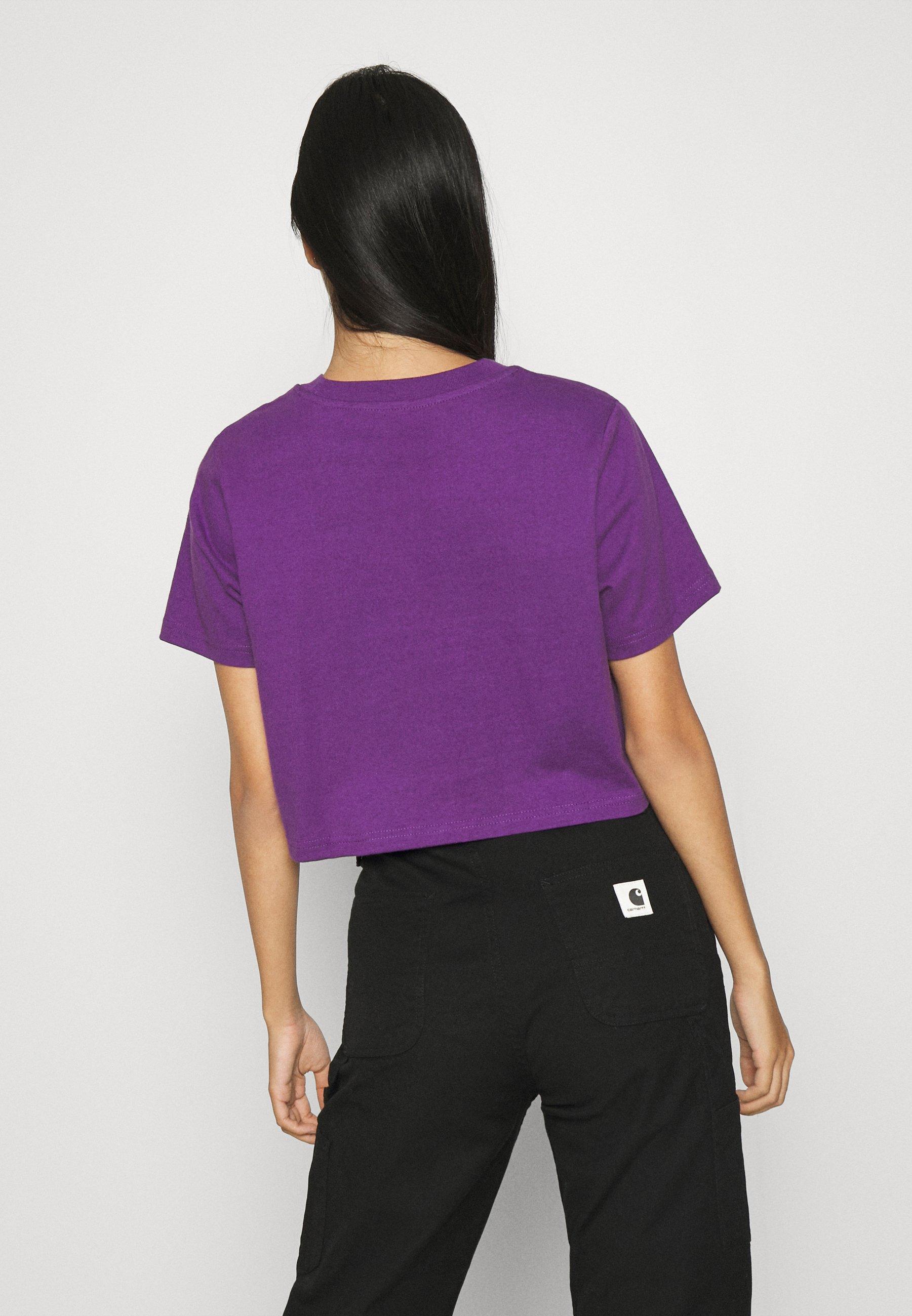 Dickies Ellenwood - T-shirts Med Print Deep Purple/lilla