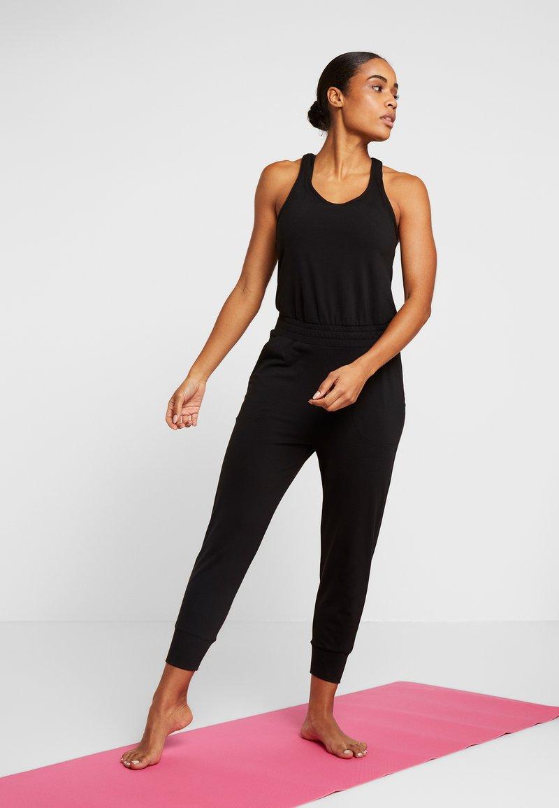 Nike Performance - Jumpsuit - black/dark smoke grey