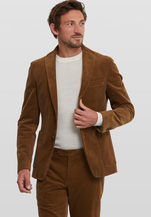ELRAY SOFT - Suit jacket - brown