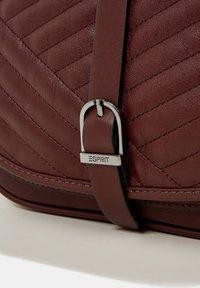 Esprit - Across body bag - bordeaux red - 5