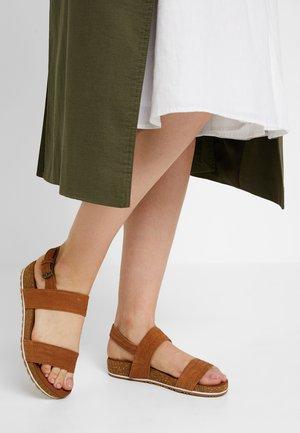 MALIBU WAVES 2BAND - Sandals - rust