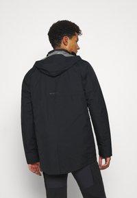 Mammut - ROSEG 3 IN 1 HOODED MEN - Hardshell jacket - black/black - 2
