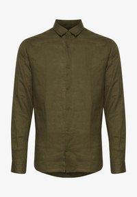 Tailored Originals - Camisa - dark olive - 4