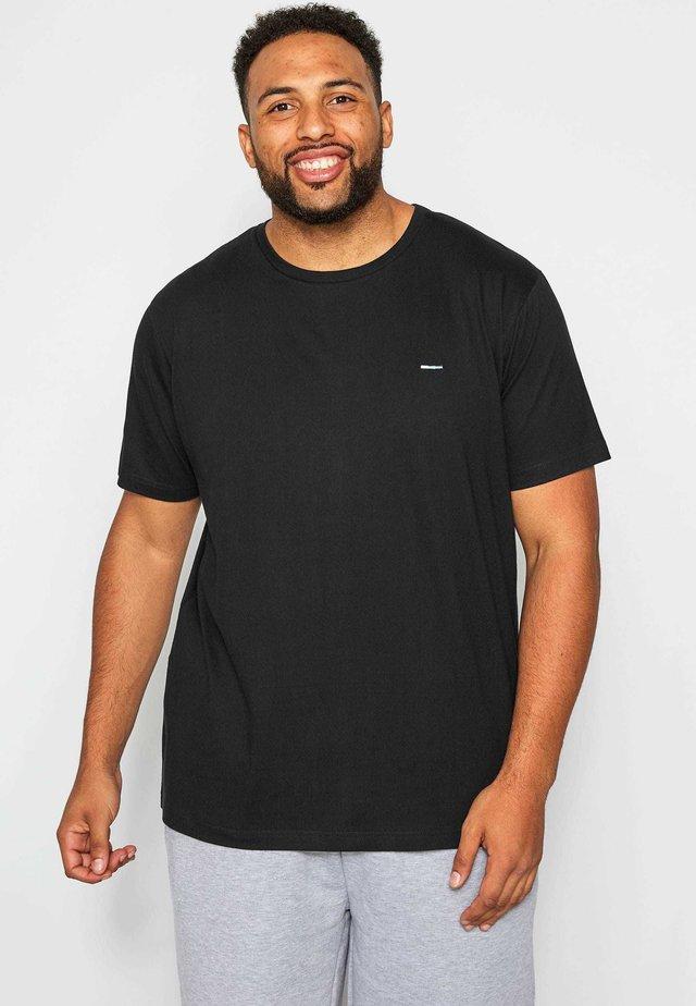 BIG AND TALL  - Basic T-shirt - black