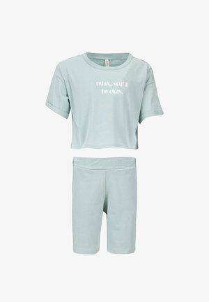 SET - Shorts - turquoise