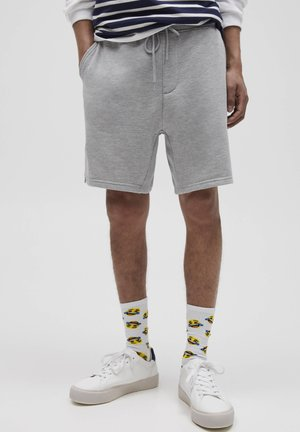 Shorts - mottled grey