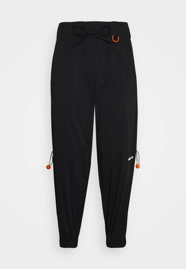LACE PANT - Trousers - black