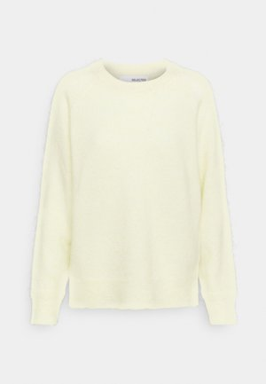 SLFLULU  - Jumper - pastel yellow
