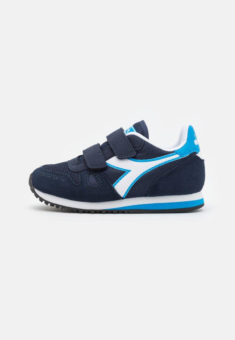 Diadora - SIMPLE RUN UNISEX - Neutral running shoes - corsair/sky/blue blithe