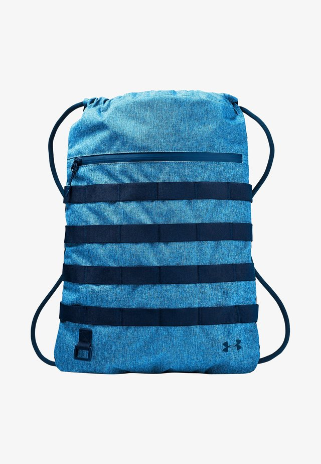 Drawstring sports bag - electric blue medium heather