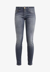 CLOSED - BAKER LONG - Jeansy Slim Fit - mid grey - 3