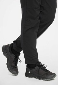 Haglöfs - TRAIL FUSE  - Hiking shoes - slate/true black - 0