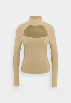 NIHAN  - Sweter - toasted taupe
