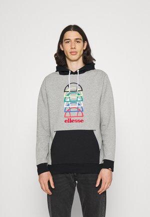 ANDO HOODY - Sweatshirt - grey marl