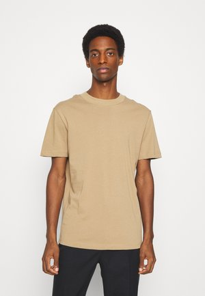 SLHRELAXCOLMAN O NECK TEE - T-shirt basique - kelp