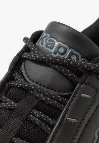 Kappa - KRYPTON - Sportovní boty - black - 5