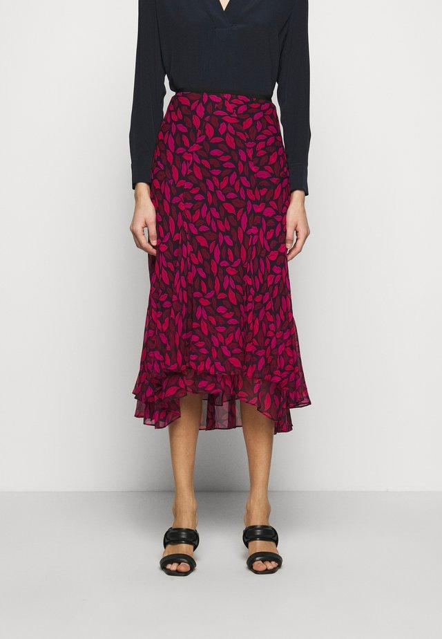DEBRA - Áčková sukně - black