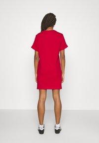 adidas Originals - TEE DRESS - Jersey dress - scarlet - 2